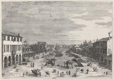 Canaletto, 'Mestre', ca. 1735/1746