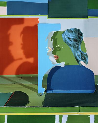 Daniel Gordon, 'Portrait with Shadows and Eyes', 2019
