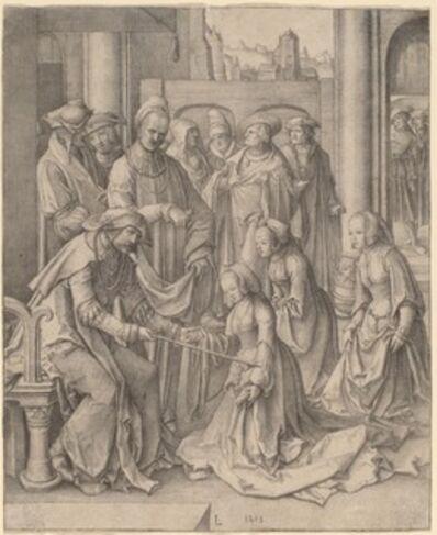 Lucas van Leyden, 'Esther before Ahasuerus', 1518