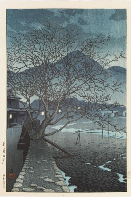 Kawase Hasui, 'Evening at Beppu', 1929