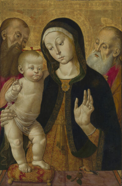 Bernardino Fungai, 'Madonna and Child with Two Hermit Saints', 1480