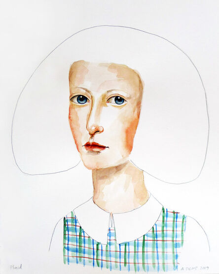 Anne Siems, 'Plaid', 2020