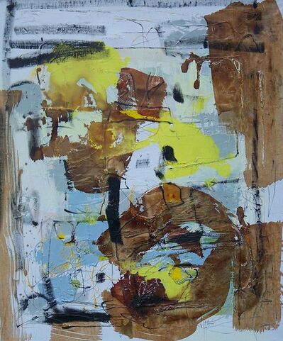 Vigintas Stankus, 'Composition With Yellow', 2013