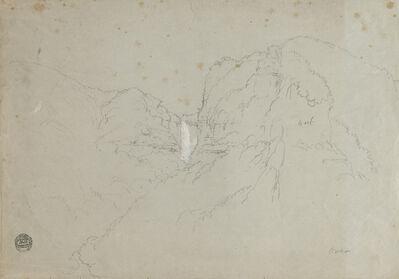 Frederic Edwin Church, 'Tequendama Falls near Bogota, Colombia', 1853