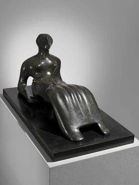 Henry Moore, 'Working Model for Reclining Figure: Bone Skirt', 1979