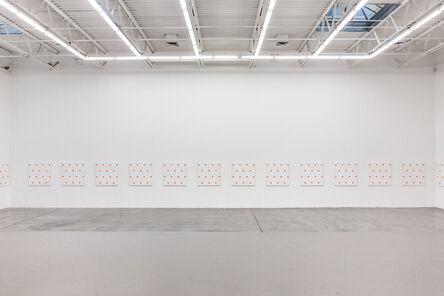 Niele Toroni, '25 paintings (Installation view)', 1987