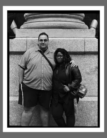 Robert Kalman, 'Tia & Mike, New York City'