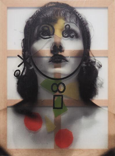 Adriana Lara, 'Symbol Face #5 (Colored)', 2012