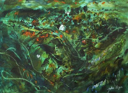 John Piper, 'Caerfarschell, Pembrokeshire', ca. 1980