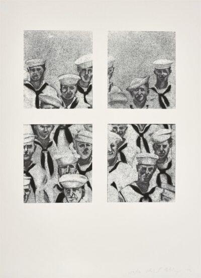 Richard Artschwager, 'Sailors', 1972