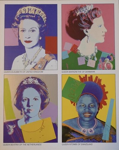 Andy Warhol, 'Reigning Queens ', 1985