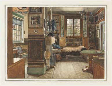 Anna Alma-Tadema, 'Sir Lawrence Alma-Tadema's Library in Townshend House, London', 1884
