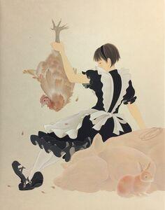Yoji Kumagai, 'meat-eater', 2017