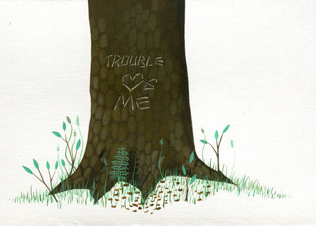 John Garrett Slaby, 'Trouble Loves Me', 2015