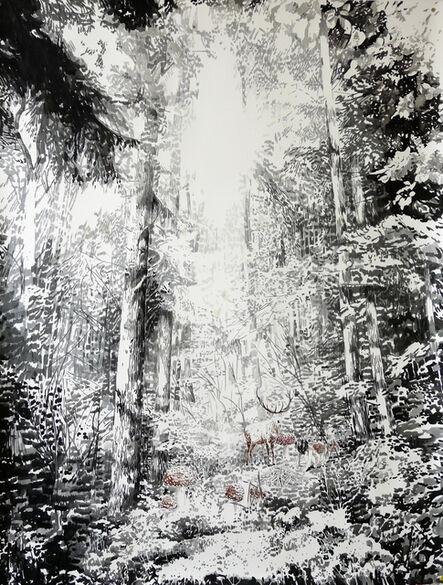 Malgosia Jankowska, 'Black Forest II', 2015