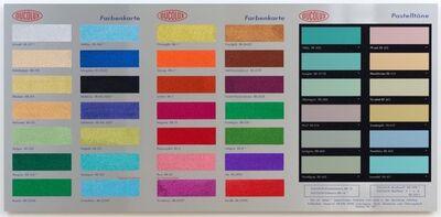 Damien Hirst, 'Colour Chart, Glitter', 2017
