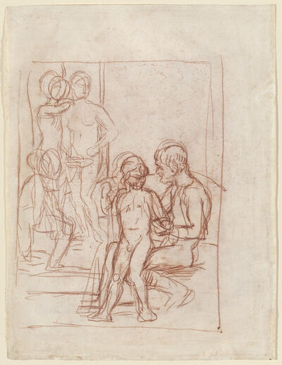 Hans von Marées, 'The Golden Age I', 1879