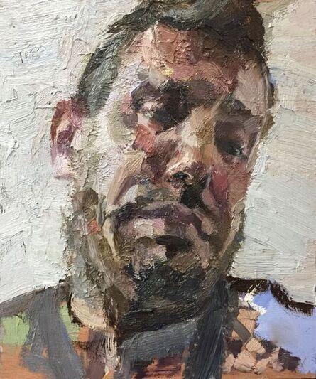 Tim Benson, ''Angled selfie'', ca. 2021
