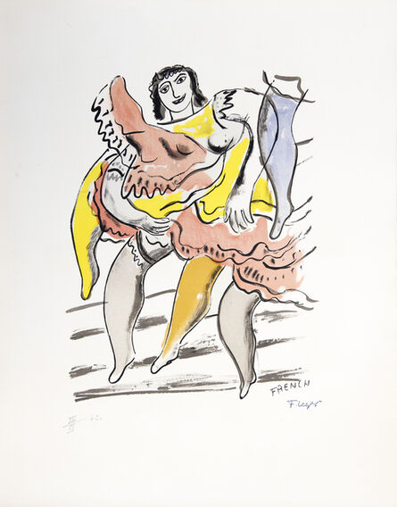 Fernand Léger, 'Le French Cancan', 1959