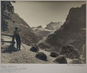 """Albert Steiner, '""""Berner Oberland. Stimmung bei Grindelwald""""  (Bernese Oberland. Stimmung at Grindelwald)', 1925-1950"""
