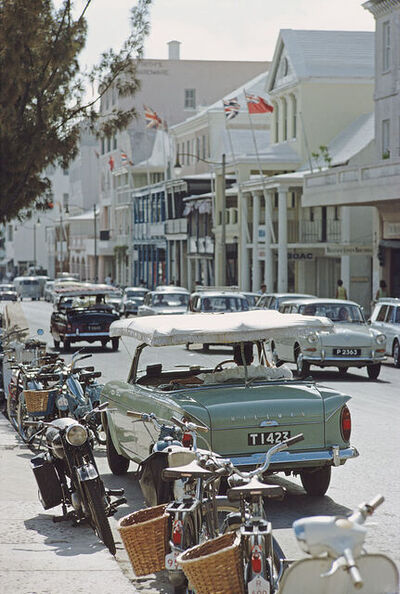 Slim Aarons, 'Bermuda Street Scene', 1967