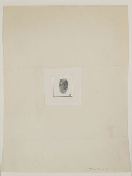 Robert Rauschenberg, 'Self-Portrait [for The New Yorker Profile]', 1964