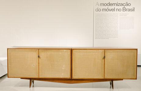 Carlo Hauner & Martin Eisler, 'Credenza with four doors in caviuna and cane.', 1956