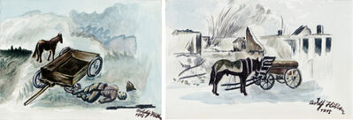 Yang Jiechang 杨诘苍, 'After the Battle 1914-2014 Nos. 5 and 6 战后 1914-2014,5,6号', 2014