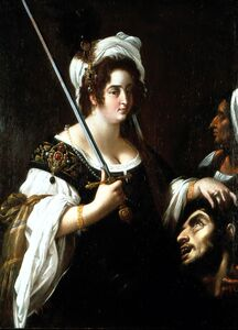 Giovanni Baglione, 'Judith with the head of Holofernes'