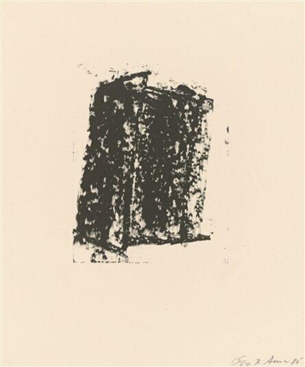 Richard Serra, 'Sketch #5', 1980