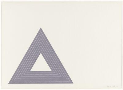 Frank Stella, 'Leo Castelli (from the Purple Series)', 1972