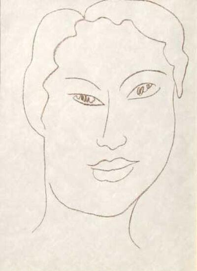 Henri Matisse, 'Tete de Jeune Fille', 1954