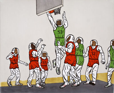 David Huffman, 'HOOP DREAMS', 2007