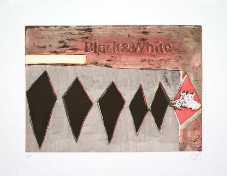 Peter Doig, 'Black & White', 2013