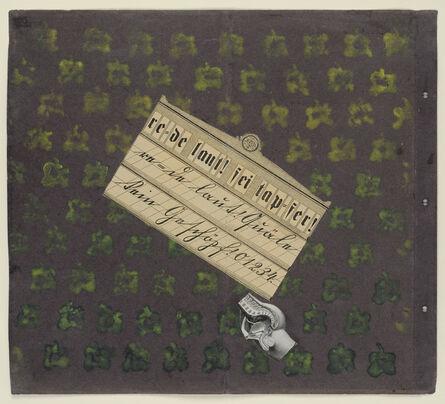 Max Ernst, 're = de laut ! sei tap = fer !', 1920