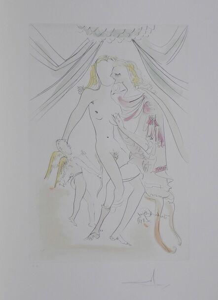 Salvador Dalí, 'Hommage a Albrecht Durer Vrnus, Mars et Cupidon', 1971