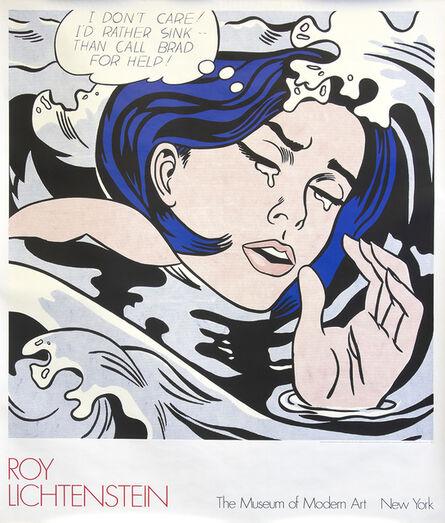 """Roy Lichtenstein, '""""Drowning Girl"""" MOMA   Affiche', 1989"""