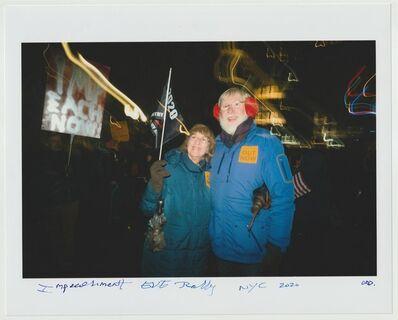 Cheryl Dunn, 'Impeachment EVE Rally NYC ', 2020