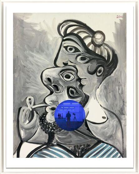Jeff Koons, ' Gazing Ball (Picasso Couple)', 2017