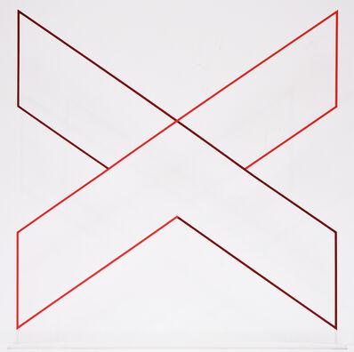 Richard Anuszkiewicz, 'Crossroads Red', 2000