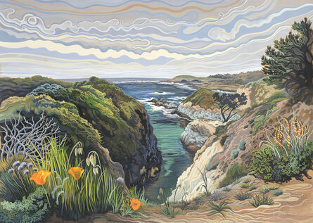Phyllis Shafer, 'China Cove, Point Lobos'