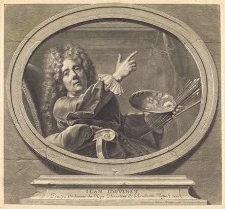Antoine Trouvain, 'Jean Jouvenet', 1707