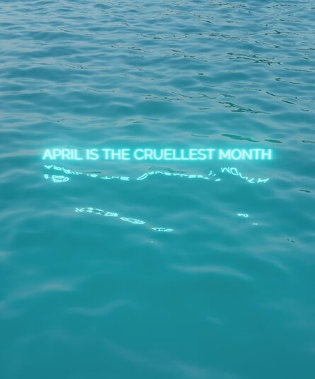 David Stenbeck, 'April Is The Cruelest Month', 2020