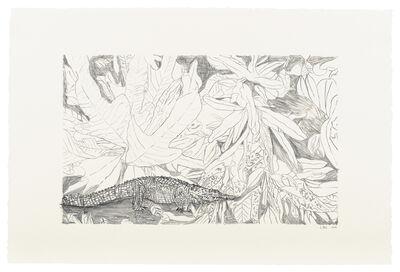 Leidy Churchman, 'Flora (Crocodile Emptiness)', 2019