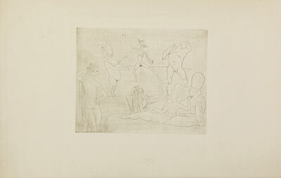 Pablo Picasso, 'La Danse (from La Suite des Saltimbanques, Bloch 15; Baer 18)', 1905