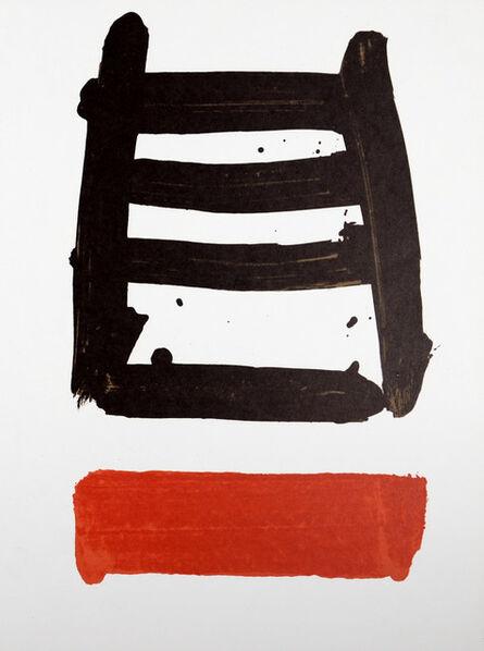 Pierre Soulages, 'Erker Treffen', 1979