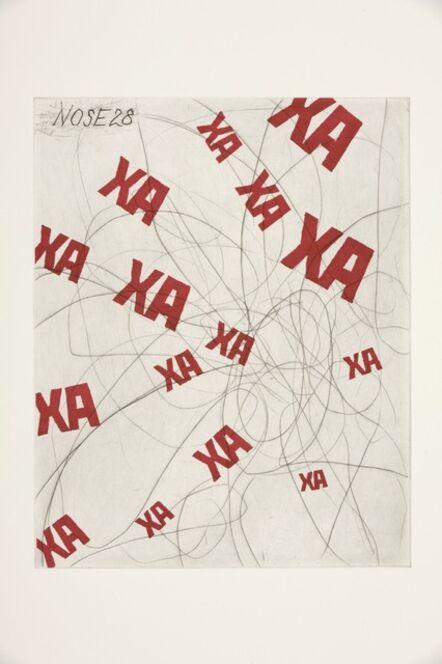 William Kentridge, 'Nose 28', 2008