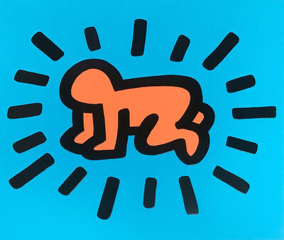 Keith Haring, 'Radiant Baby (Icons) ', 1990