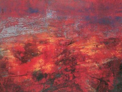 Liu Kuo-sung 刘国松, 'The Red Land 紅色大地', 2006