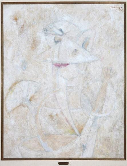 Rufino Tamayo, 'Personaje con Abanico ', 1955